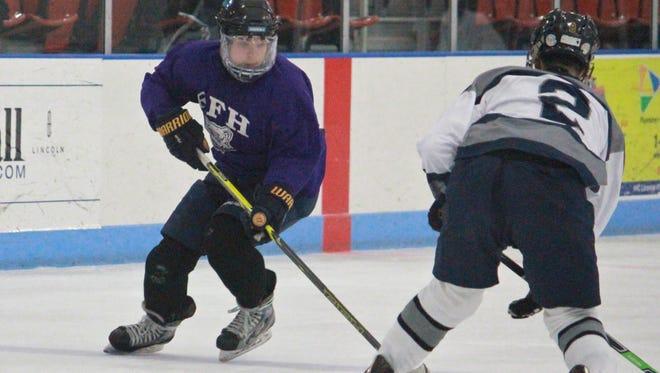 Brendan Ban of Rumson-Fair Haven ice hockey.