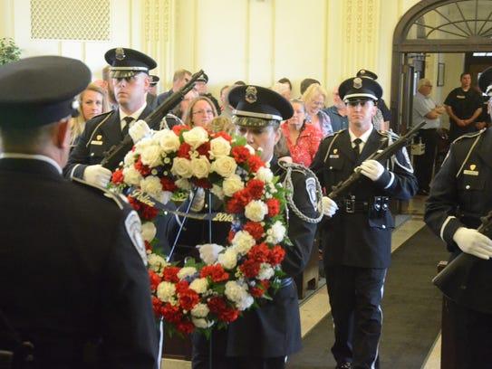 Members of the Battle Creek Police Department Honor