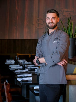 James Pryor is the executive chef at Society in south Fort Myers.