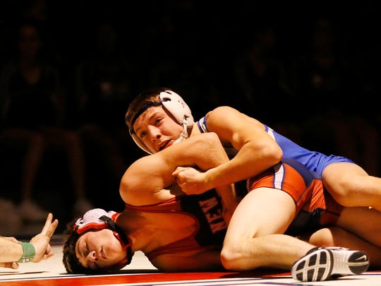 Spring Grove's Clay Baker, back, will be one of a program-record