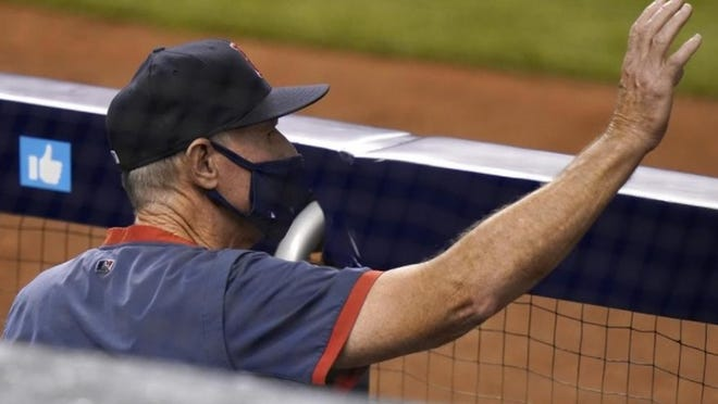 The Red Sox announced Sunday that manager Ron Roenicke will not return next season.