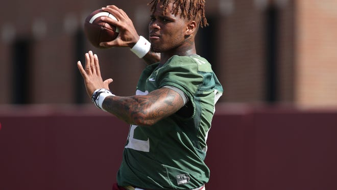 Florida State quarterback Deondre Francois is being investigated for a domestic violence incident that is alleged to have occurred early Wednesday morning.