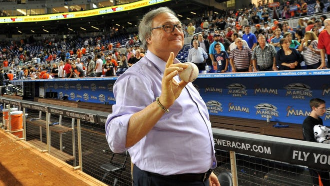 Jeffrey Loria is the owner of the Marlins.