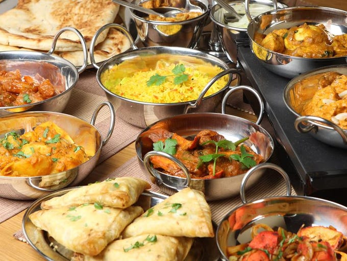 India's Grill offers an array of Indian dishes including