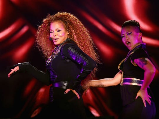 Janet Jackson: Movement and message.