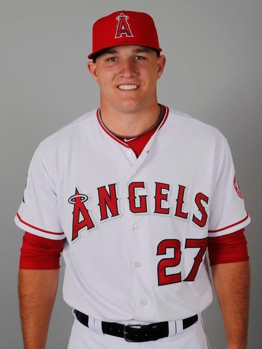 Angels 2014 Baseball
