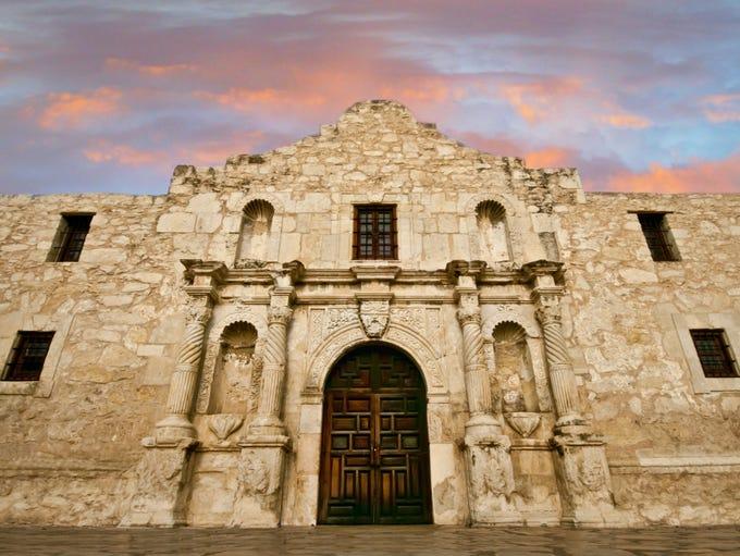 Texans consider the Alamo in San Antonio a shrine to