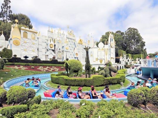 Disneyland's It's a Small World ride.