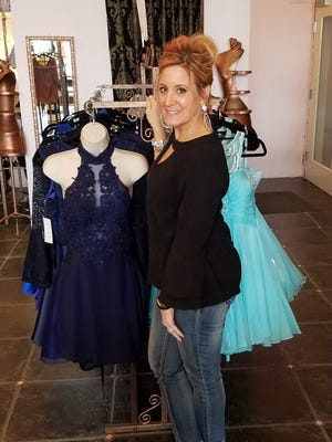 Nicole Zich's Sassy Girl retail shop began with a focus on accessories, but then branched out into clothing and formalwear.