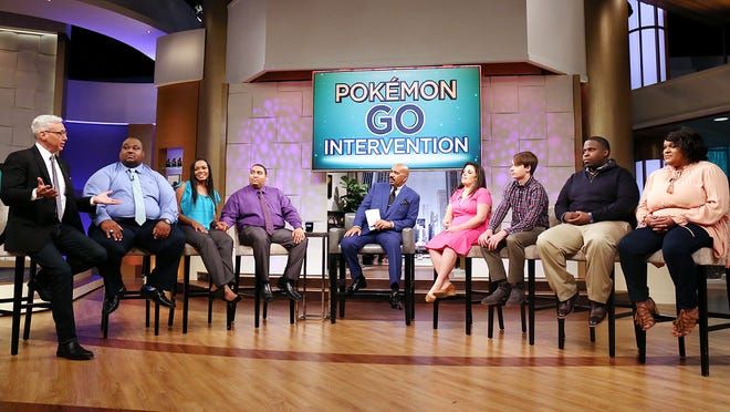 "Pokémon Go players featured on Friday's episode of ""Steve Harvey"""