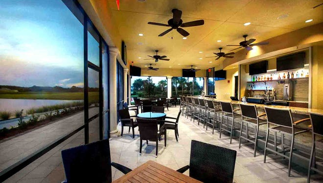 The Rusty Putter bar and grill opened to the public Friday, Aug. 19, in Del Webb Naples' Panther Run Golf Club in Ave Maria.