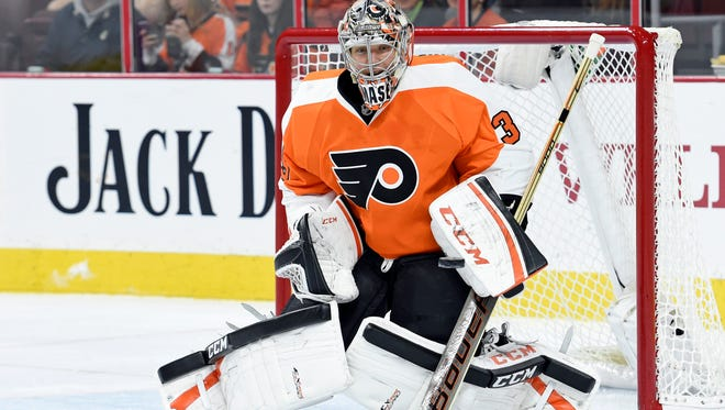 Steve Mason didn't know he was starting Tuesday night until after he had already stepped on the ice for the morning skate.