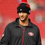 QB Colin Kaepernick only started eight games for the 49ers in 2015.