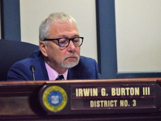 Sussex County Councilman I.G. Burton.