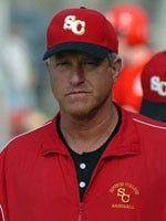 Joe Franklin Blake, men's pitching coach at Simpson College