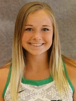 Lindsay Nye scored five goals in York College's 5-4 overtime win against Dickinson College on Wednesday.