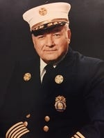 William J. McMahon Jr. served as White Plains Fire Chief from 1977 until his retirement in 1986.