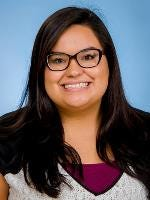 Cynthia Tapia, a Robstown High School graduate, was awarded the Giovanni and Maria Grazia Micci Award for Mentoring Excellence.