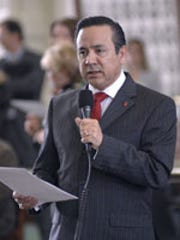 Democratic state Sen. Carlos Uresti resigned in June after being convicted of fraud.