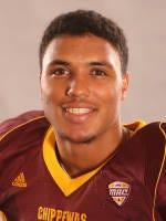Jarret Chapman, CMU football player