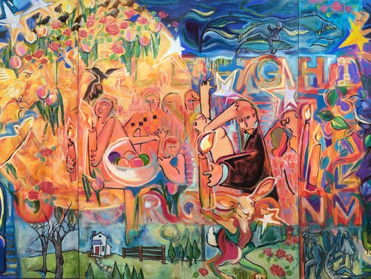 636172534444970928-garner-narrative-contemporary-fine-art-yours-in-struggle-GarnerandGarner.SingWithMe.5x12.medres.jpg