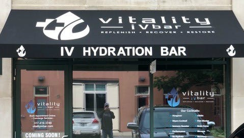 Vitality IV, Mass Ave's only IV therapy center, opens at 749 Mass on June 1.