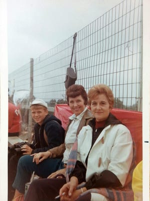 The Williams family of Terre Haute in 1969 at the Indianapolis 500. They've had the same seats at the track since 1954.