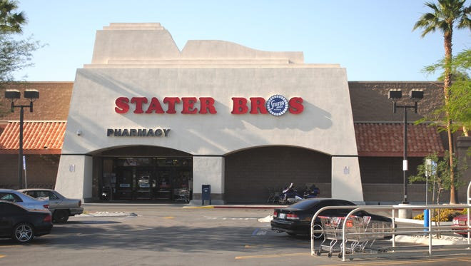 The Stater Bros. store in Palm Springs.