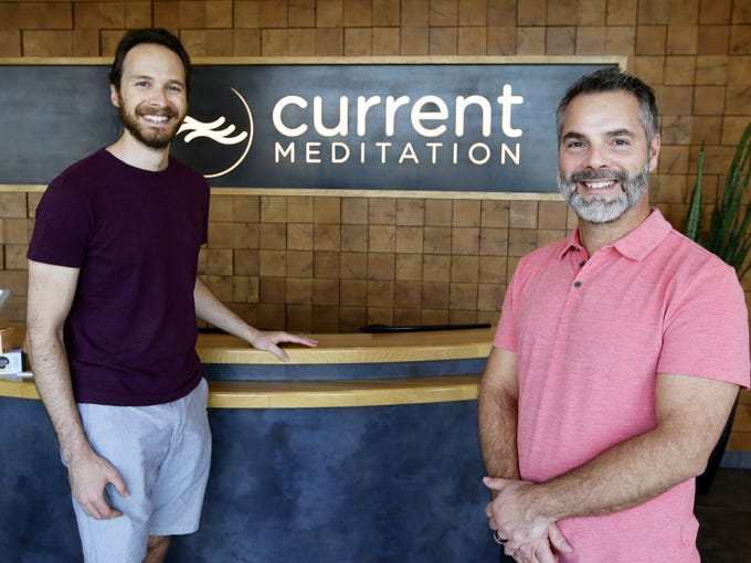 Current Meditation owners Ross Weisman and Matt Robison