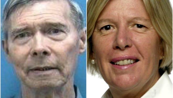 Ed Fielding and Sarah Heard