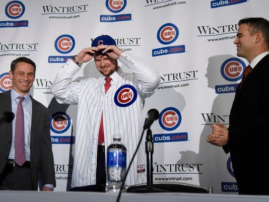 Chicago Cubs Introduce Jon Lester
