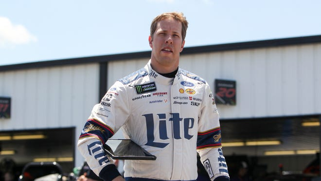 Brad Keselowski has two wins in 2017 and won the 2012 NASCAR Cup Series title with Team Penske.