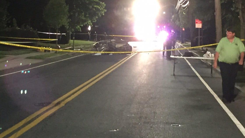 New Rochelle Car Crash