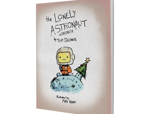 Tom DeLonge's 'The Lonely Astronaut on Christmas Eve' is now on sale at avashop.com.