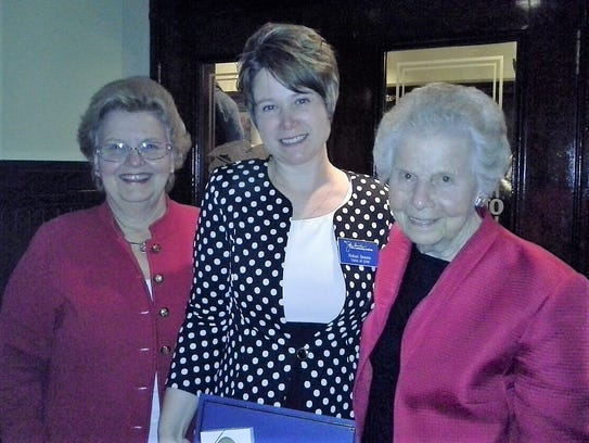 Chair Betty Montgomery (left) and founder Jo Ann Davidson