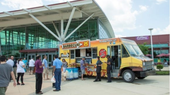 Road Hog, a new Southern Style BBQ food truck at the Delaware Welcome Center on I-95.