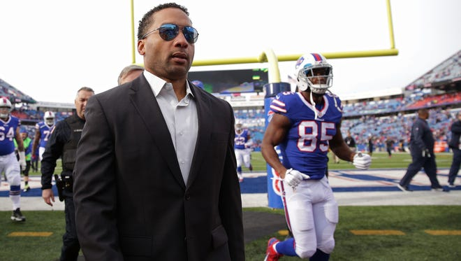 New coach to hire, decision on QB, 24 free agents ... Bills GM Doug Whaley has a smorgasbord of work.