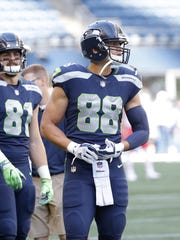 Jimmy Graham is in the final year of his contract.