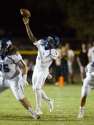 Chandler's Bryce Perkins has evolved from a run-first quarterback to an elite passer with good decision-making skills.