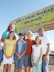 Holly Schineller, Freddie Schineller and their family