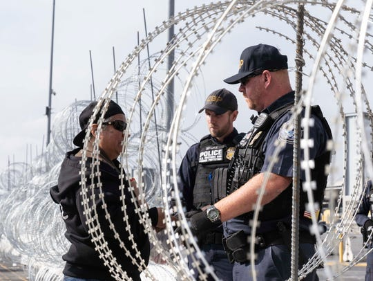 According to U.S. Customs and Border Protection, 92,607 immigrants were apprehended at the border in March.