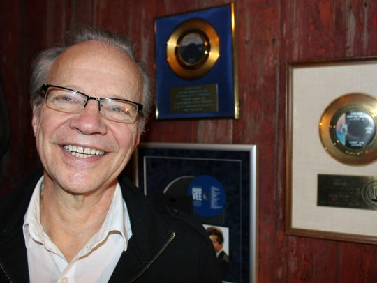 Bobby Vee poses at his family's Rockhouse Productions