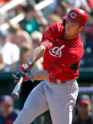 Along with Jay Bruce, Skip Schumaker and Chris Dominguez, Brennan Boesch homered in Monday's game.