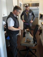 Sammi, a Jack Russell terrier who stars in Joe Clarke's