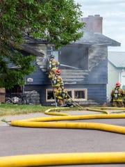 2 house fire