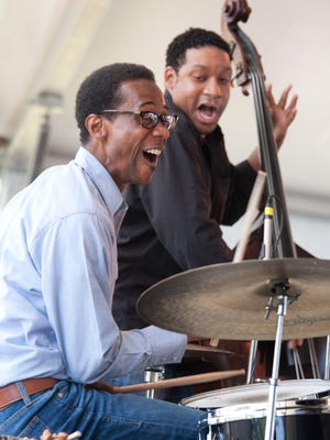 Drummer Brian Blade & the Fellowship Band, including bassist Chris Thomas, perform at 5 p.m. Saturday at the Chase Main Stage at 2015 Detroit Jazz Festival.