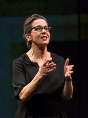 """Betsy Aidem plays Marguerite Oswald in """"Mama's Boy."""""""