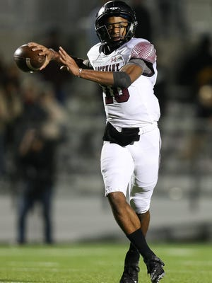 Lockhart quarterback Jackie Edwards Jr. returns to lead the Lions in the hunt for their first district title since 1971.
