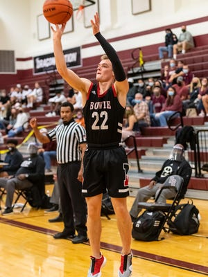 Bowie's Coleton Benson, a senior shooting guard who signed to play for Army in early November, is averaging 24.5 points per game this season and poured in 32 points against McNeil and 31 vs. Lockhart to help the Bulldogs (4-1) get off to good start.