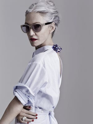 """Linda Rodin may have peaked as a model late in life, but she's also riding high with a variety of endeavors. """"I find it hysterically funny that 40 years later, when I'm wrinkled and a mess, they love me,""""  Rodin said. """"I'm 66 and still look cool in jeans, I guess."""""""